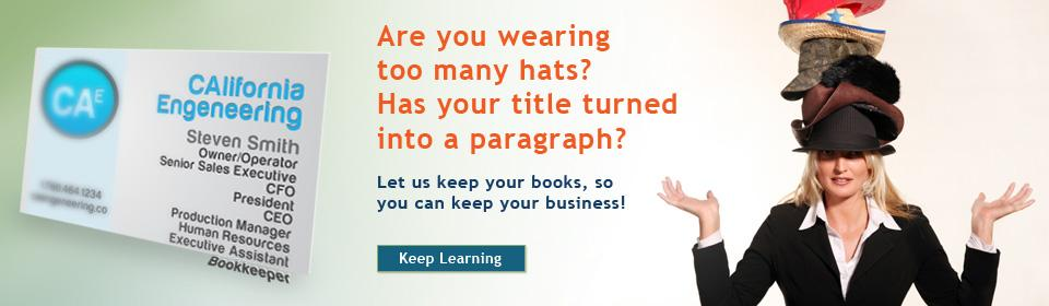 San Diego Small Business Owner - Do you wear too many hats for your business